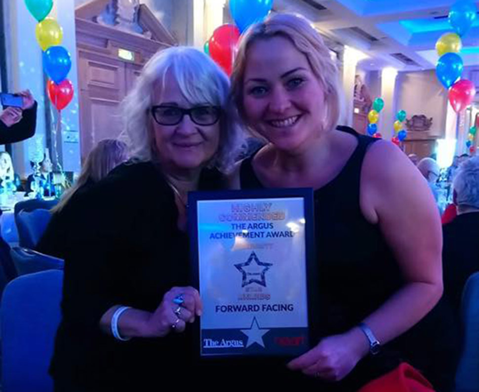 Forward Facing Is Highly Commended For The Argus Achievement Award