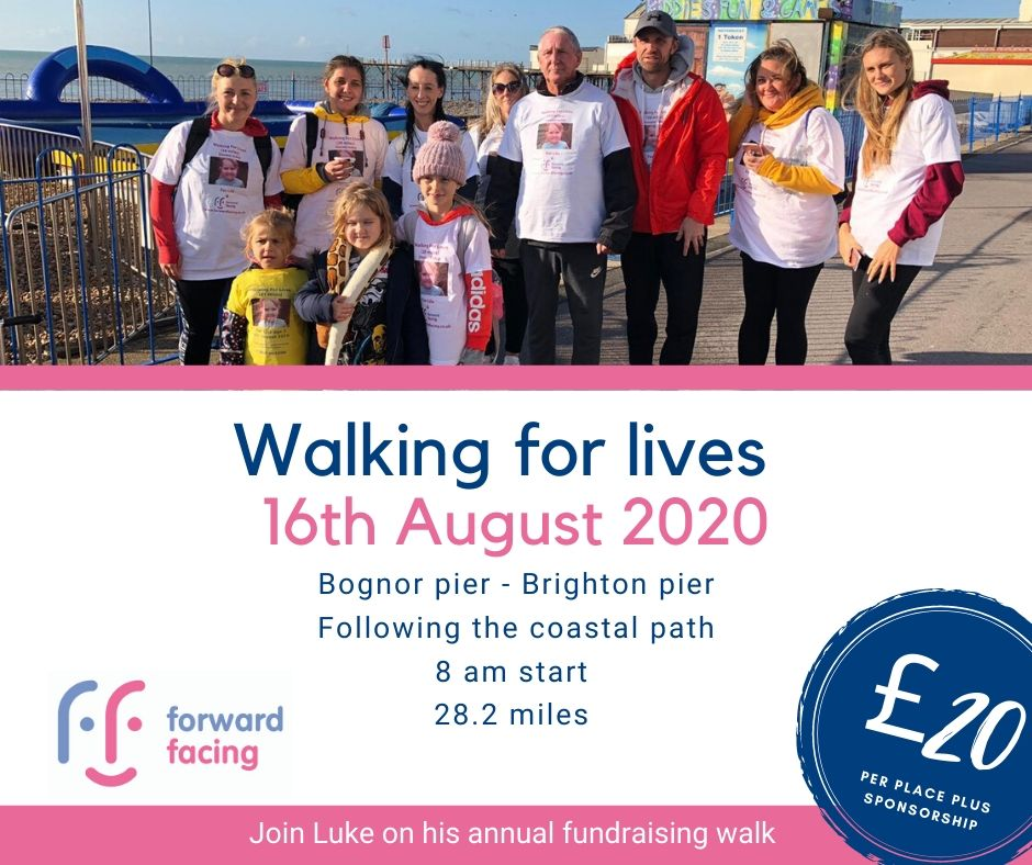 Walking For Lives; 16th August 2020!