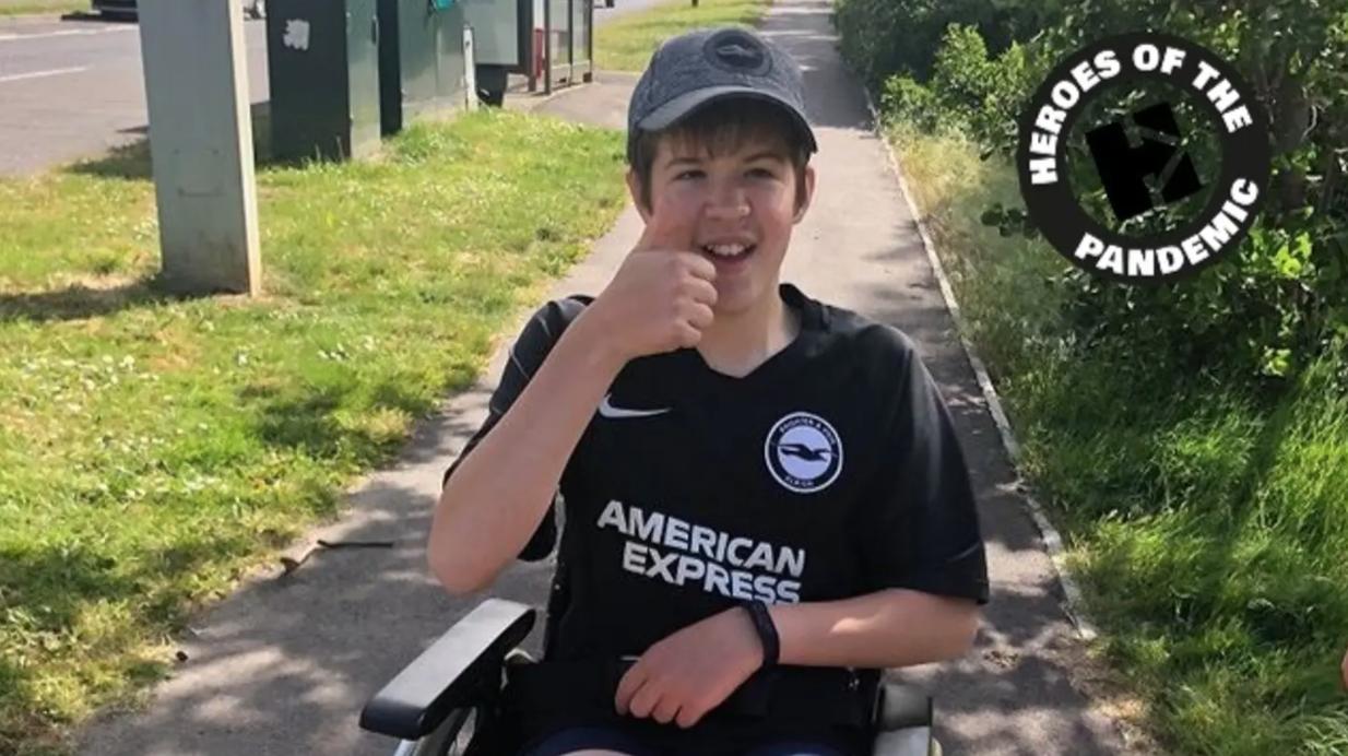 Ryan Raises £3,000 With A Week Of Walks