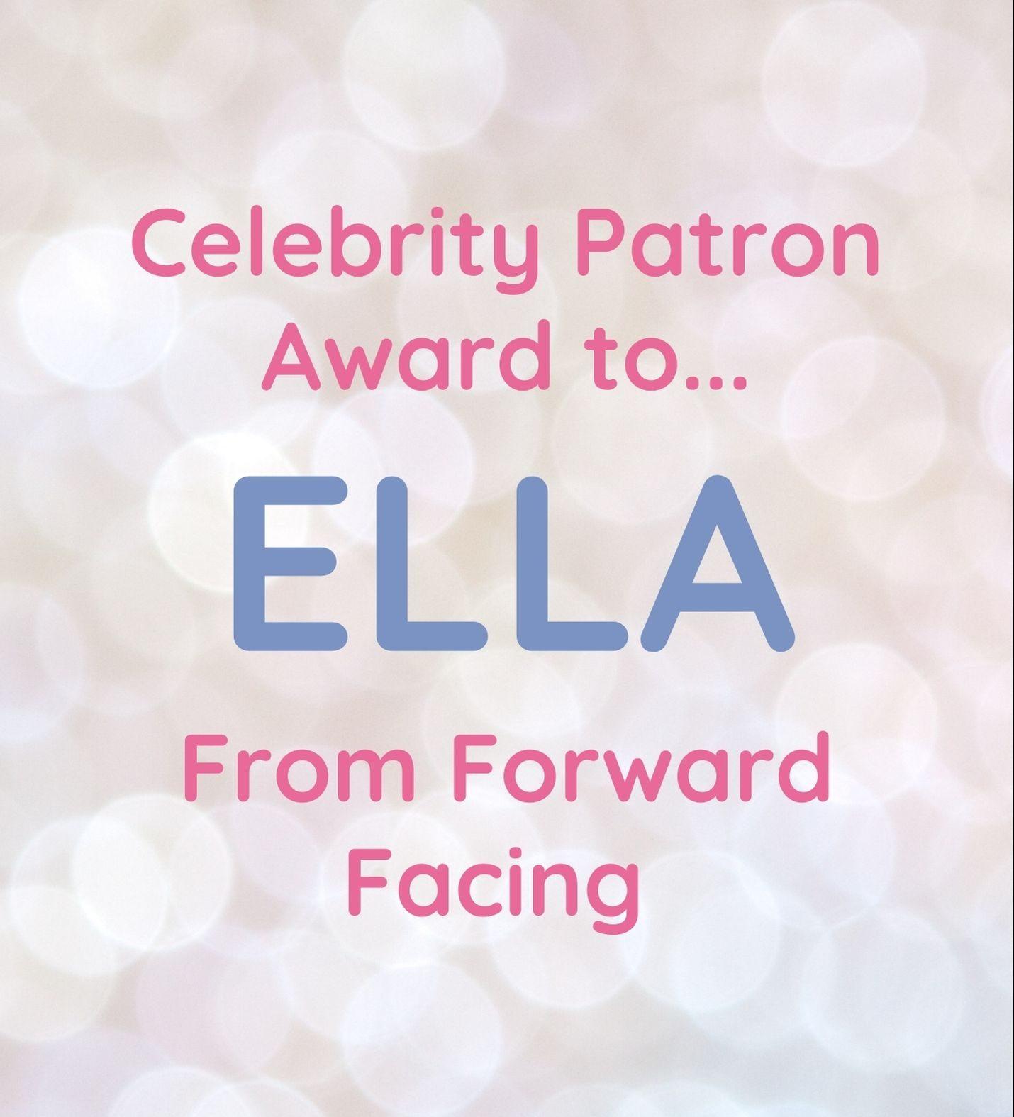 Meet Our Celebrity Patron Ella